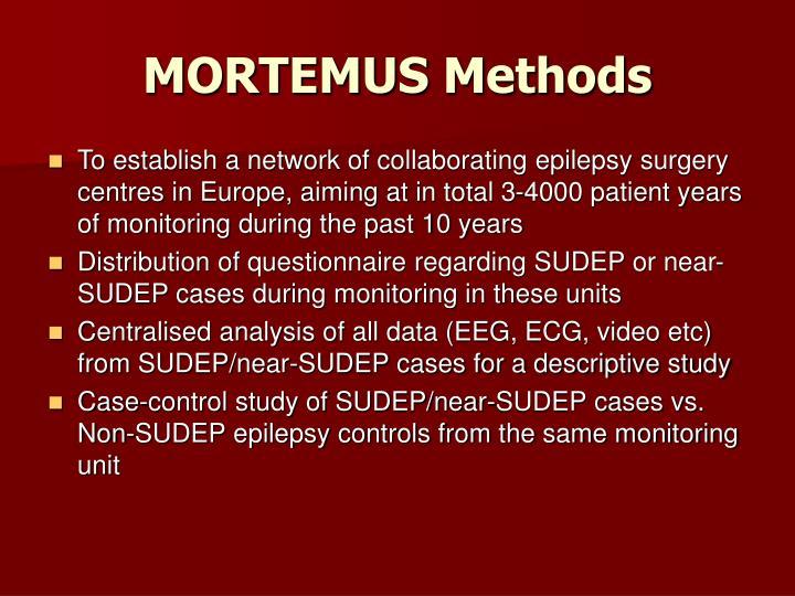MORTEMUS Methods