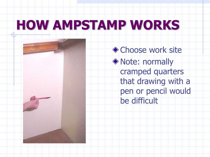 HOW AMPSTAMP WORKS