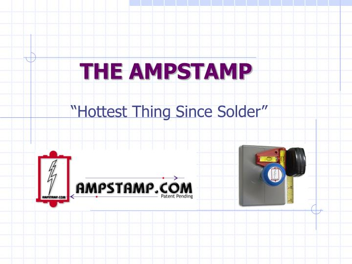 The ampstamp