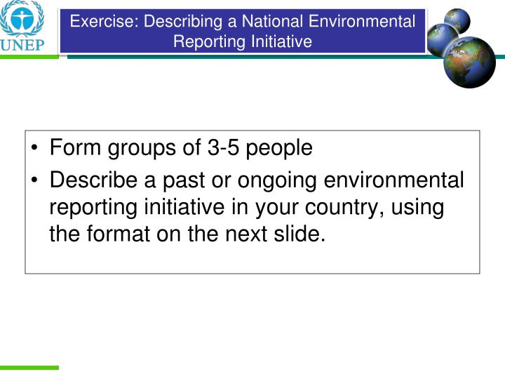 Form groups of 3-5 people