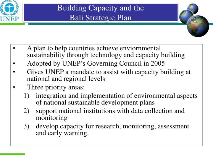 Building Capacity and the