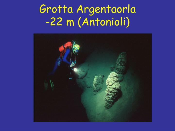 Grotta Argentaorla