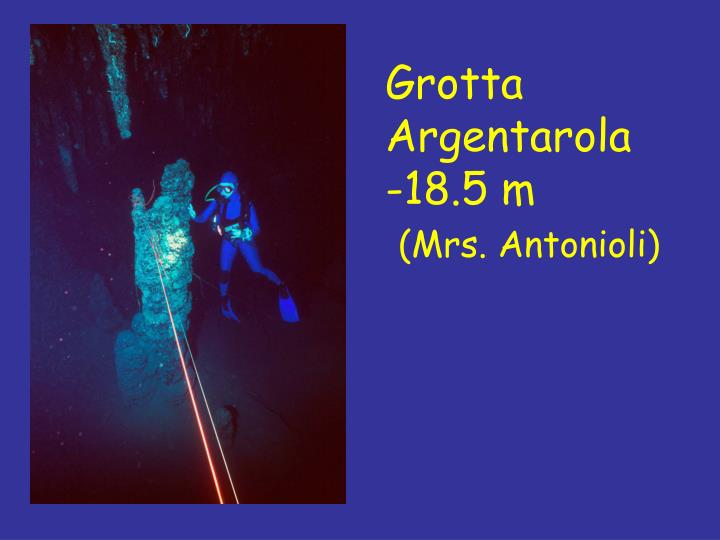 Grotta Argentarola