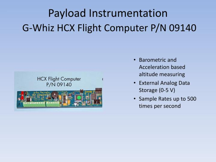 Payload Instrumentation