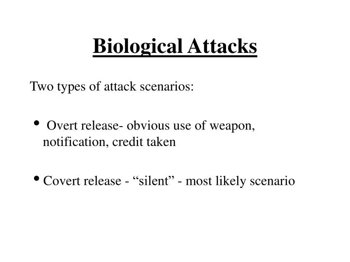 Biological Attacks