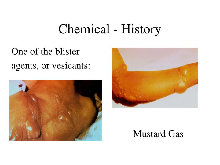 Chemical - History