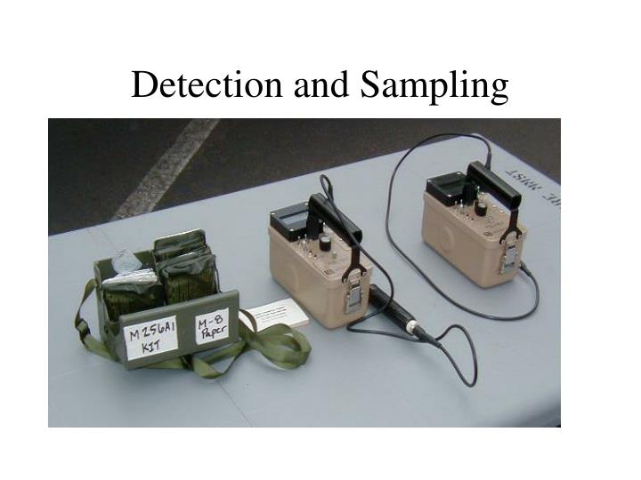Detection and Sampling