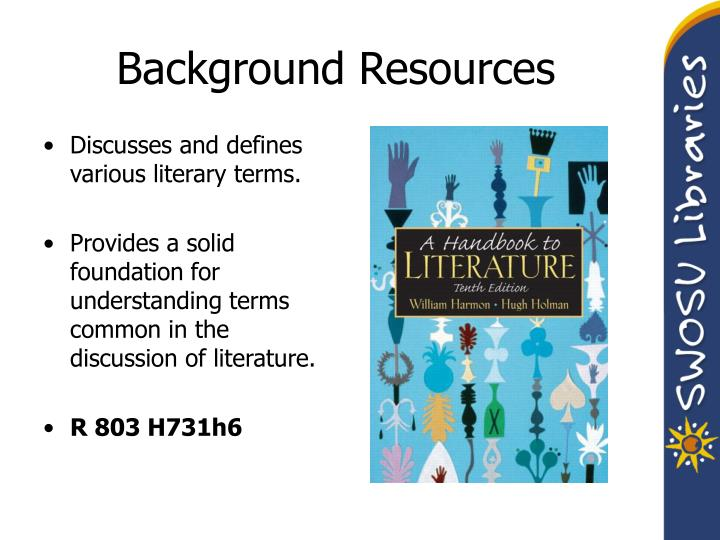 Background Resources