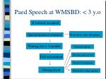 paed speech at wmsbd 3 y o