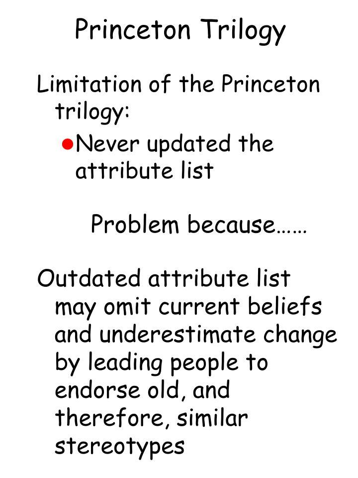 Princeton Trilogy