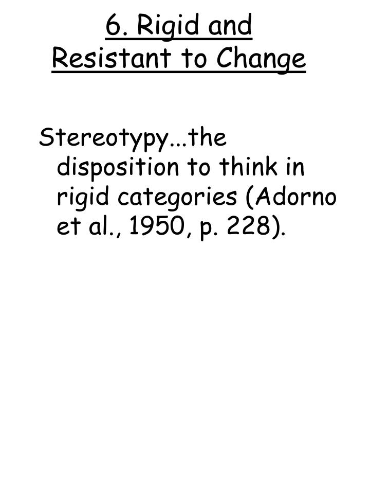 6. Rigid and