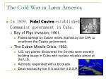 the cold war in latin america