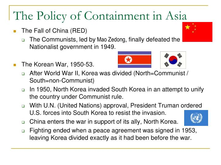 The Policy of Containment in Asia