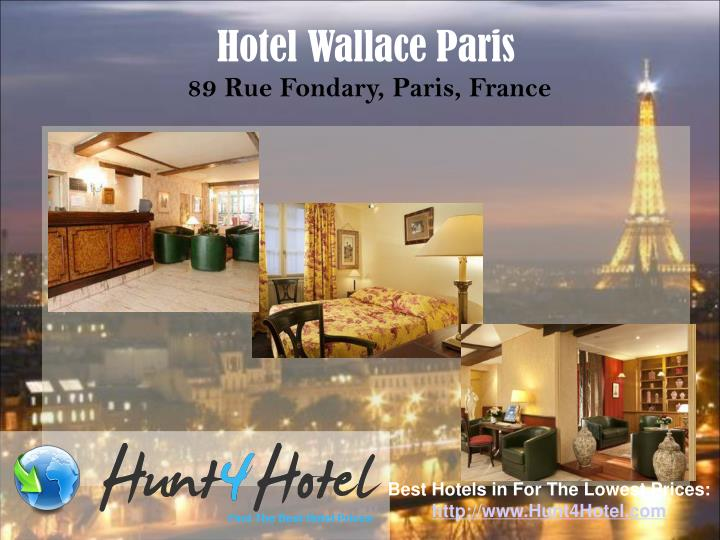 Hotel Wallace Paris