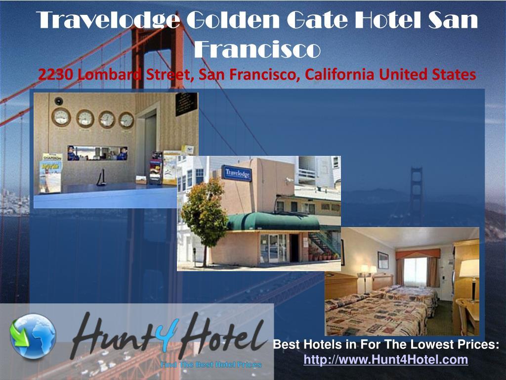 Travelodge Golden Gate Hotel San Francisco