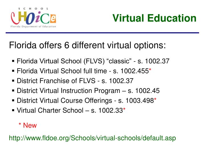 Virtual Education