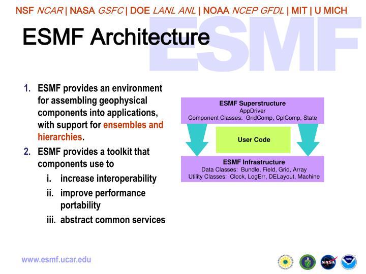 ESMF Architecture