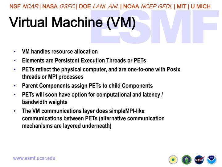 Virtual Machine (VM)