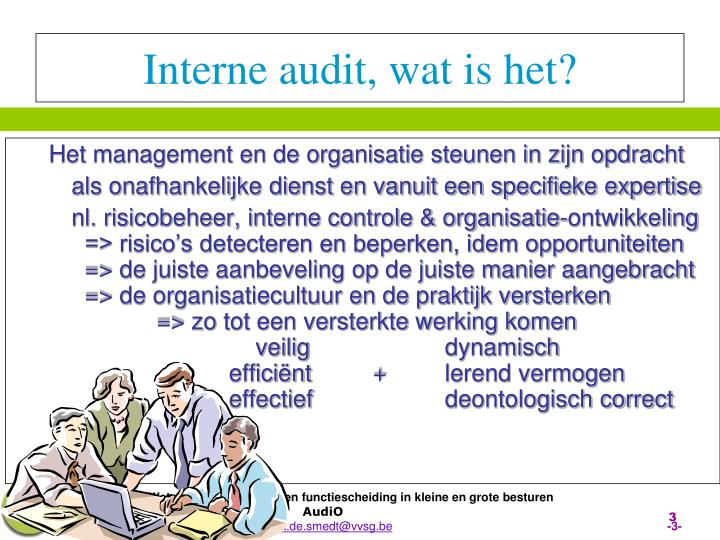 Interne audit wat is het