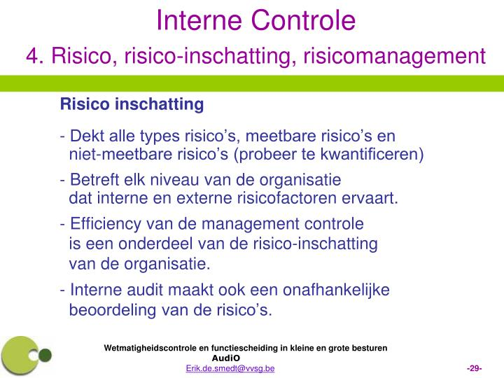 Risico inschatting