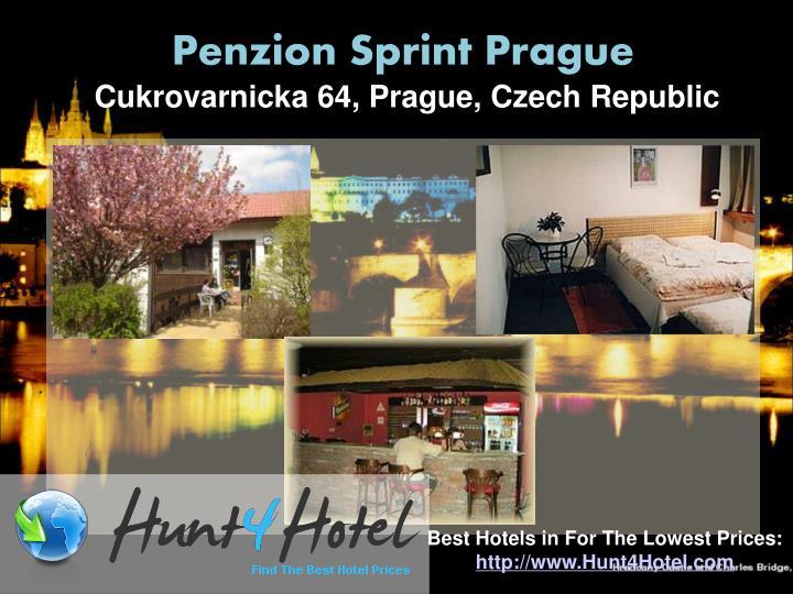 Penzion Sprint Prague