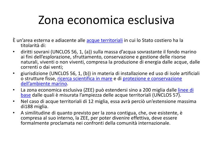 Zona economica esclusiva