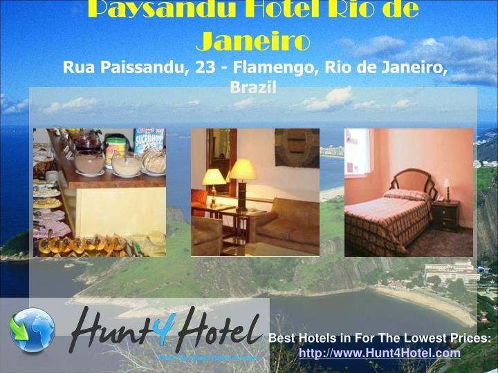 Paysandu Hotel Rio de Janeiro