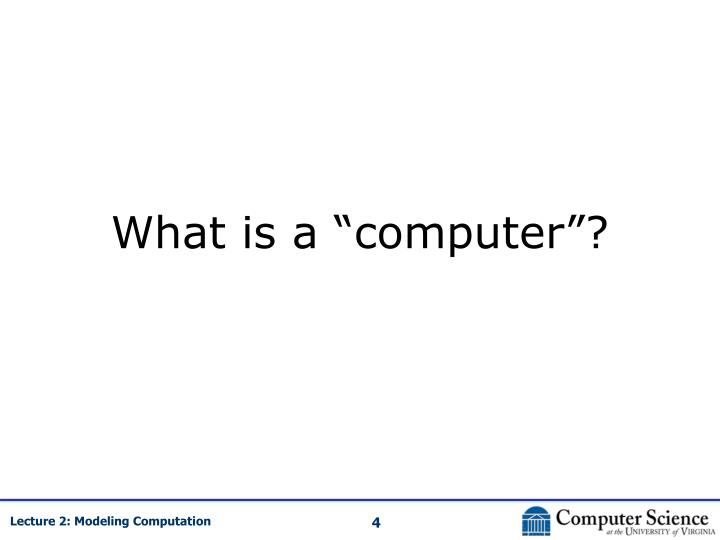 "What is a ""computer""?"