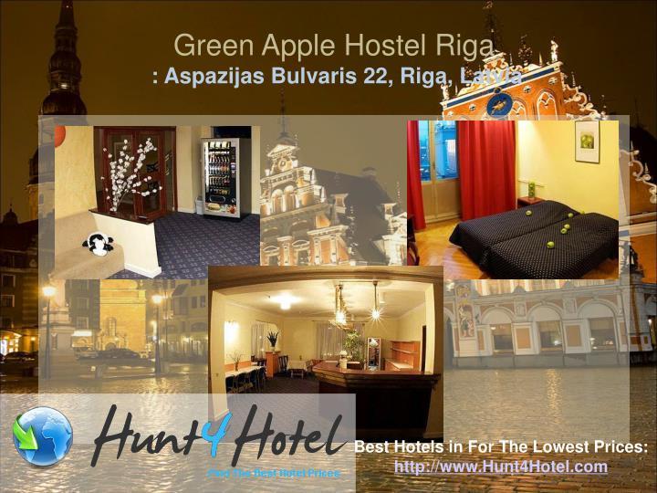 Green Apple Hostel Riga
