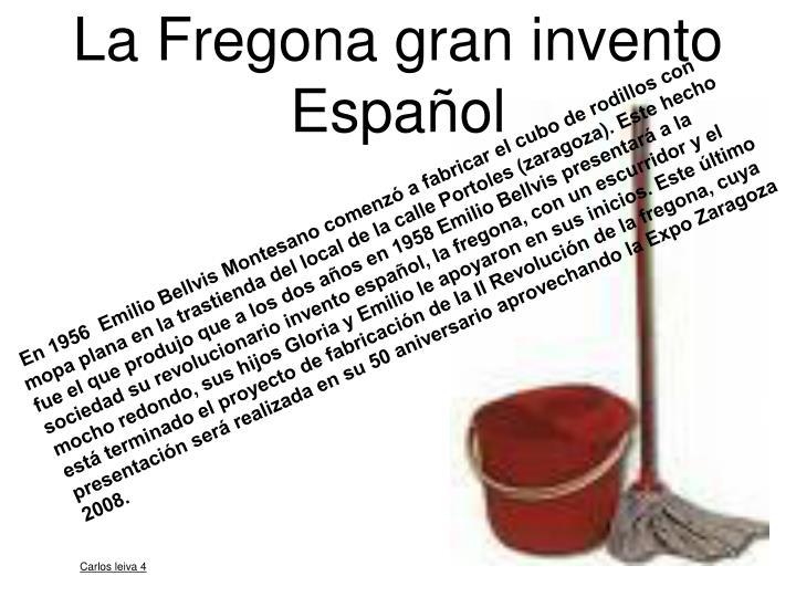 La Fregona gran invento Español