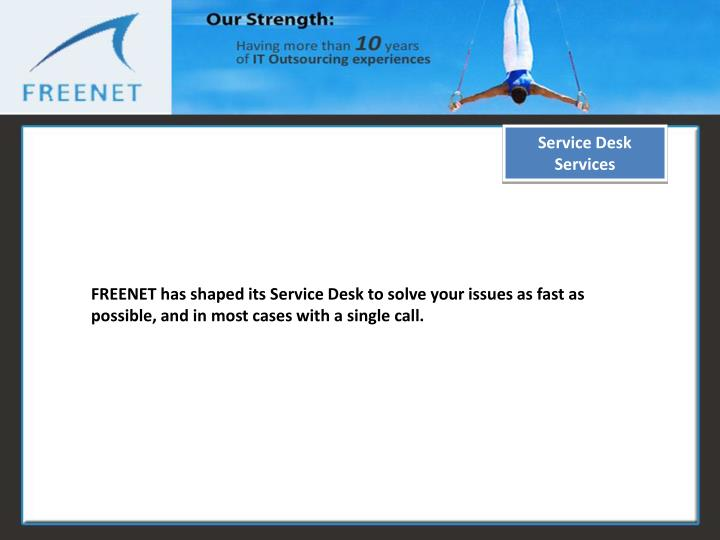 Service Desk Services