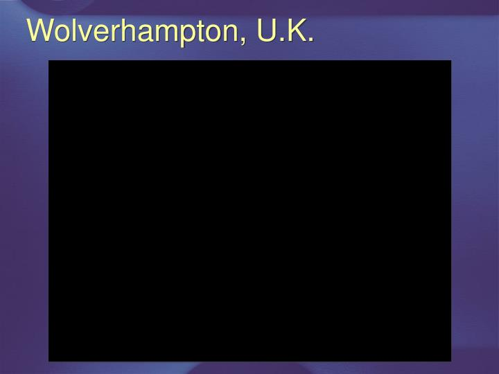 Wolverhampton, U.K.