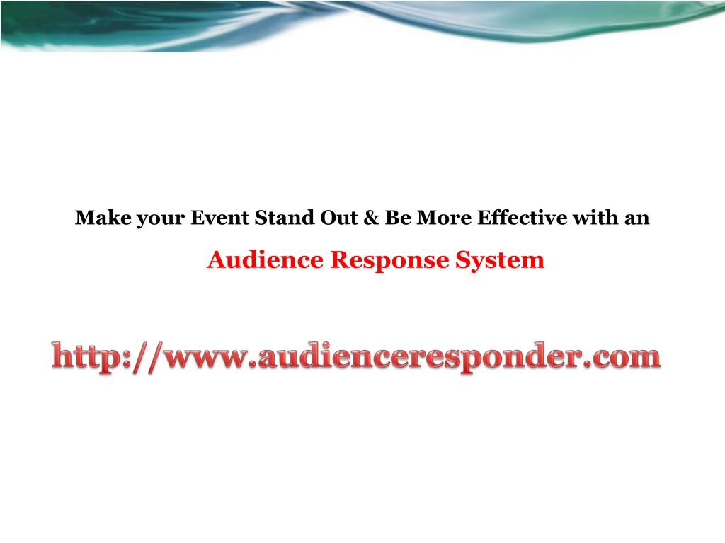 Make your Event Stand Out & Be More Effective with an