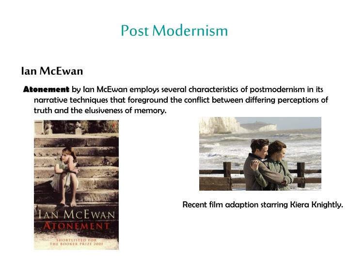 the concept of different reality in atonement a novel by ian mcewan In his latest book atonement ian mcewan brings the british novel into the 21st century, says geoff dyer  needless to say, the more disturbing or skewed that reality (in the early stories and .