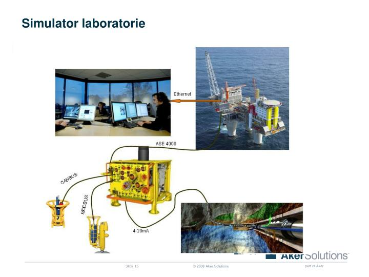 Simulator laboratorie