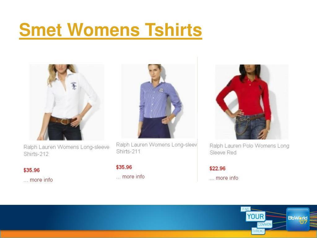 Smet Womens Tshirts