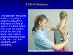 fatfold measures