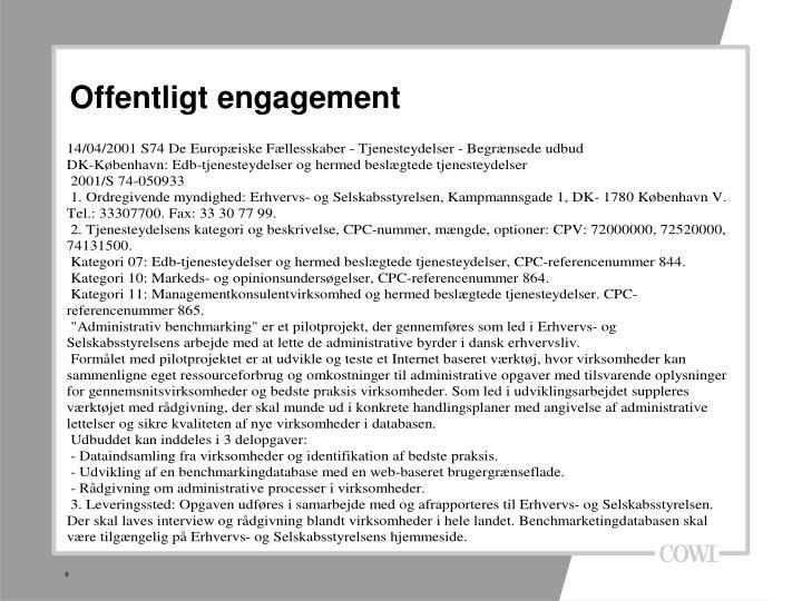 Offentligt engagement