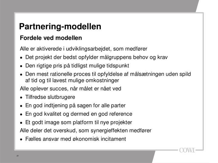 Partnering-modellen