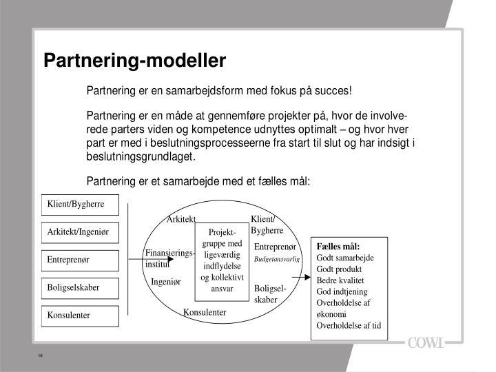 Partnering-modeller
