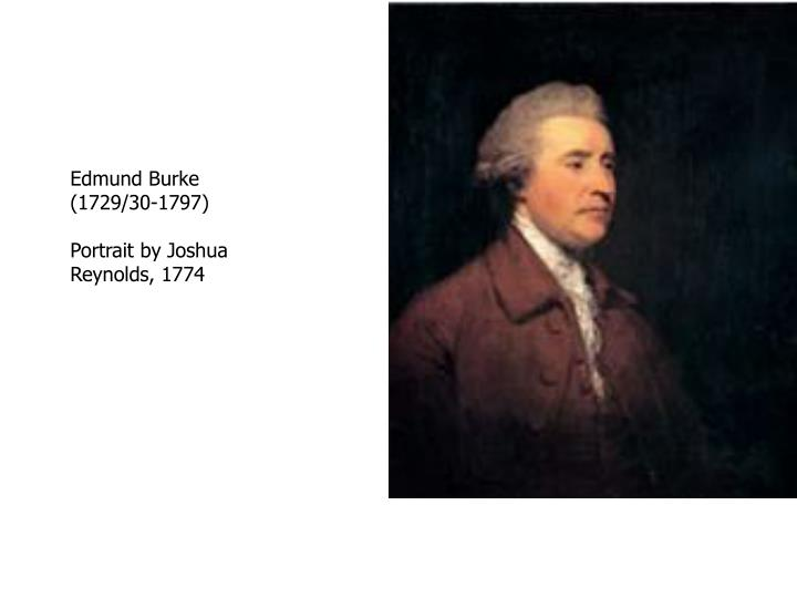 Edmund Burke (1729/30-1797)