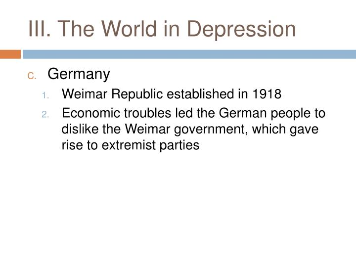 economic problems in germany (tov) essay Home » nazi germany » the nazis and the german economy did the nazis produce an economic miracle for germany the minister of the economy was hjalmar schacht.