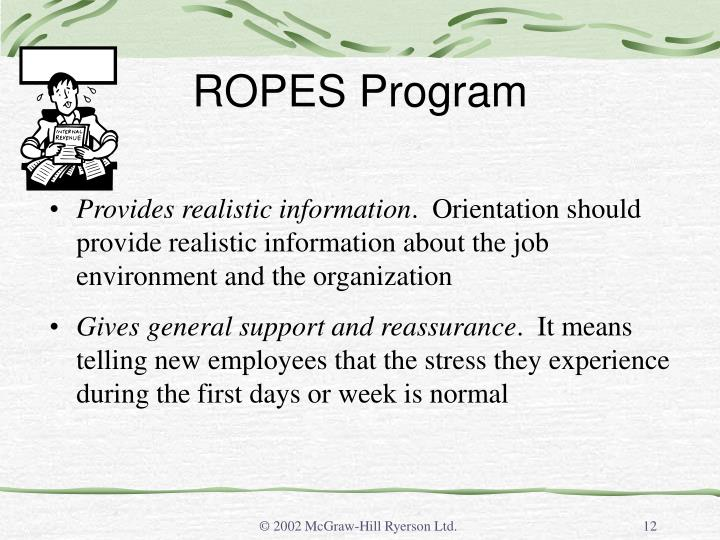 ROPES Program