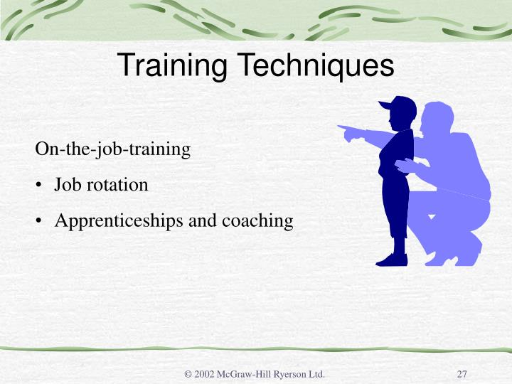 Training Techniques
