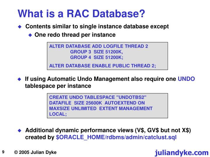 What is a RAC Database?