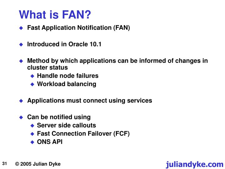What is FAN?