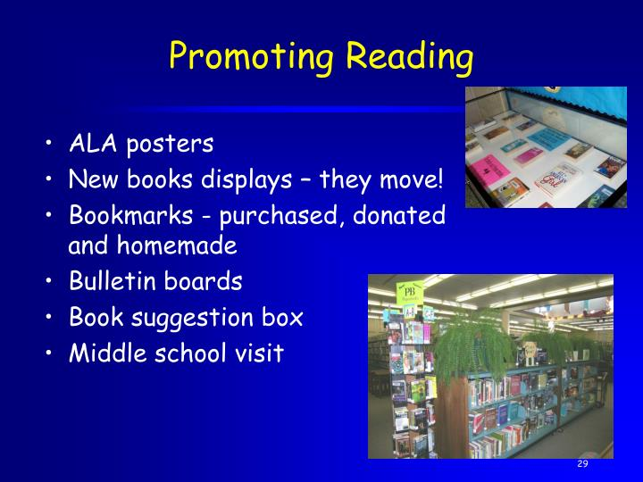 Promoting Reading