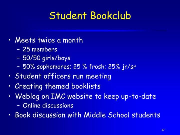 Student Bookclub