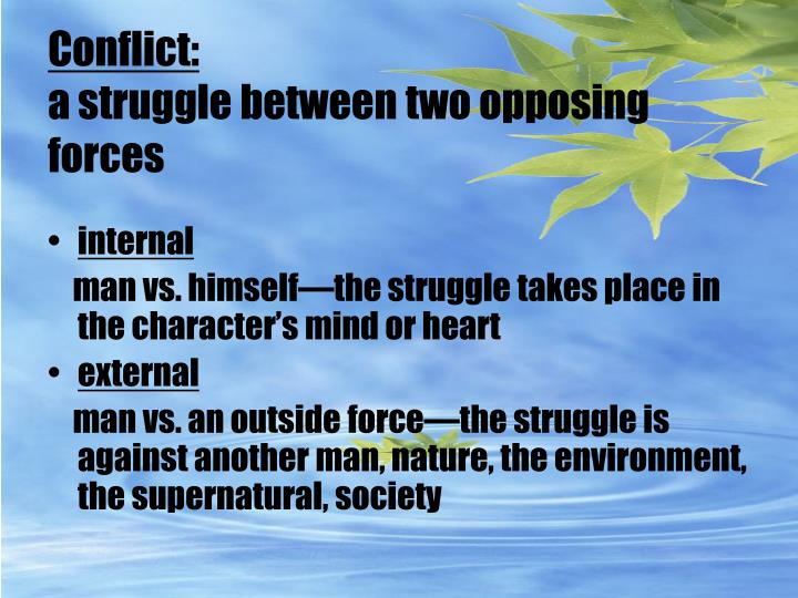 Conflict: