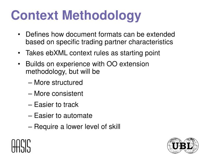 Context Methodology